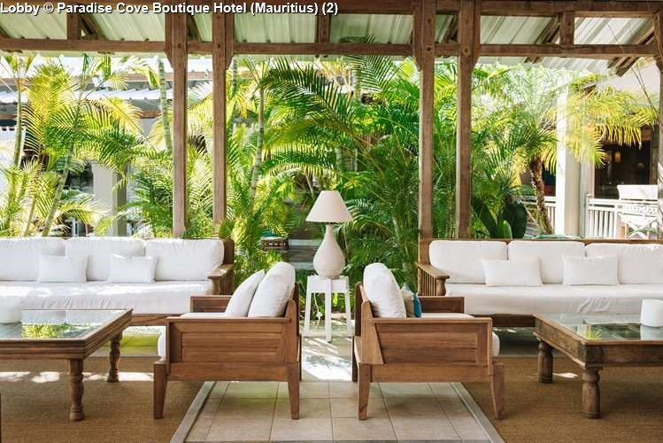 Lobby Paradise Cove Boutique Hotel (Mauritius)