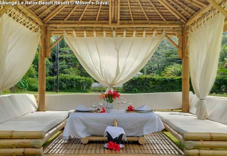Lounge of Le Relax Beach Resort (Praslin)