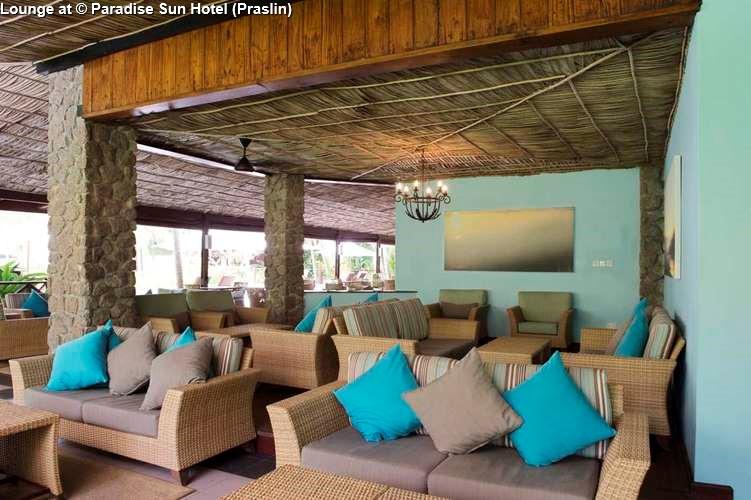 Lounge of Paradise Sun Hotel (Praslin)