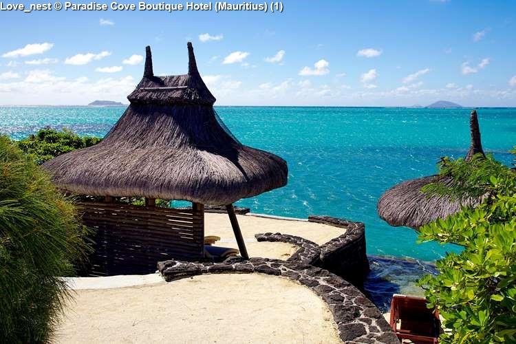 Love_nest Paradise Cove Boutique Hotel (Mauritius)