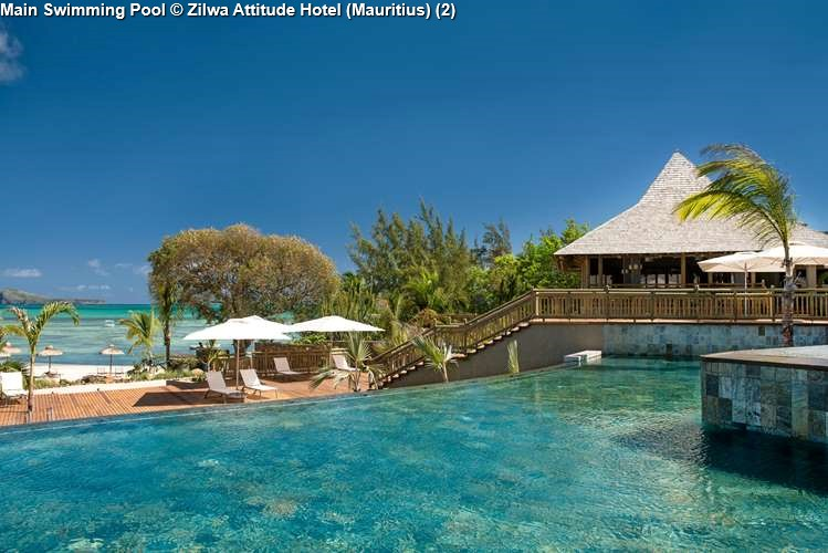 Main Swimming Pool Zilwa Attitude Hotel (Mauritius)