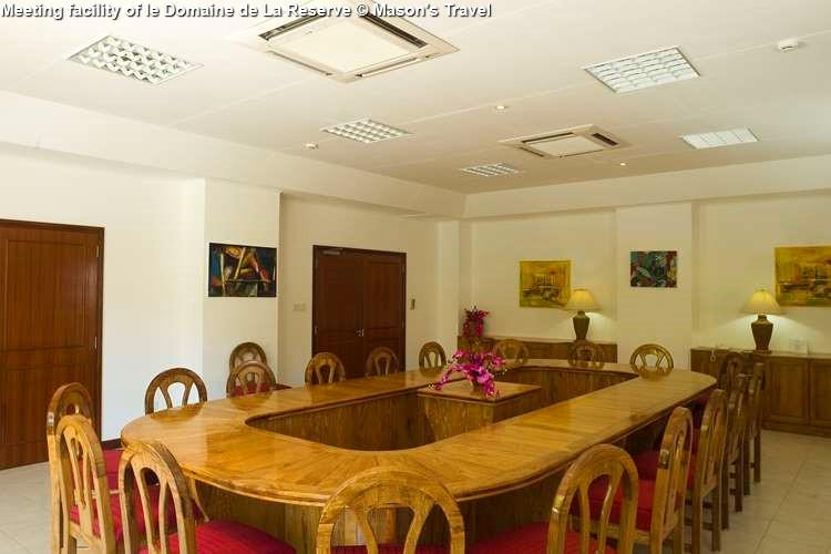 Meeting facility of le Domaine de La Reserve (Praslin)