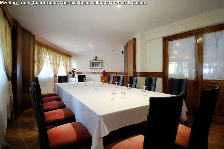 Business Meeting room berjaya beau vallon bay resort & casino