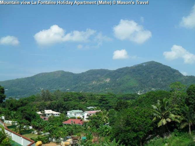 Mountain view La Fontaine Holiday Apartment (Mahe(