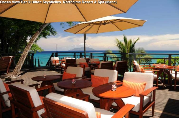 Ocean View Bar © Hilton Seychelles Northolme Resort & Spa (Mahe)