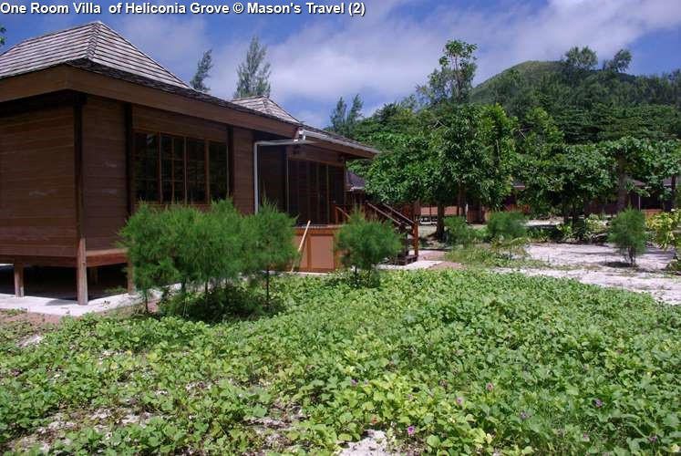 One Room Villa of Heliconia Grove (Praslin)