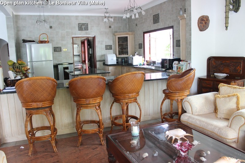 Kitchen © Le Bonheur Villa (Mahe)