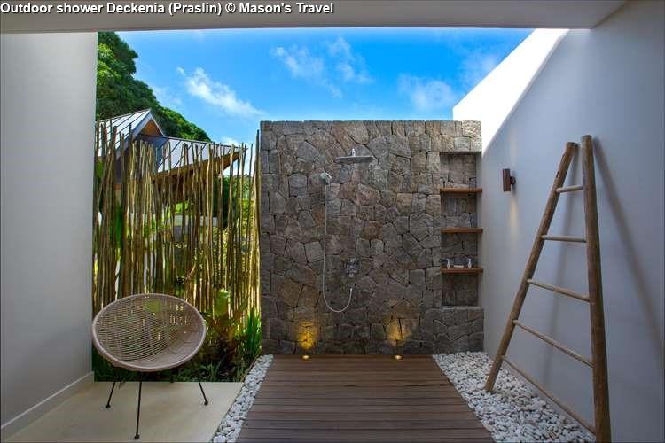 Outdoor shower Deckenia
