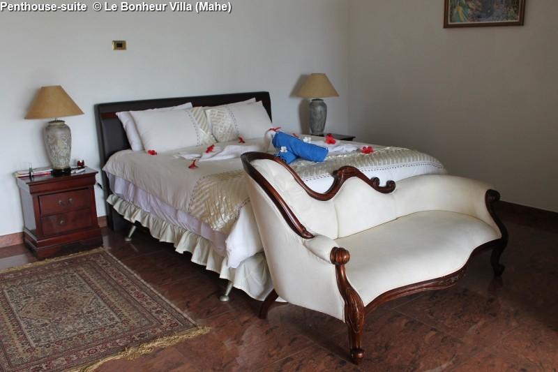 Penthouse-suite © Le Bonheur Villa (Mahe)