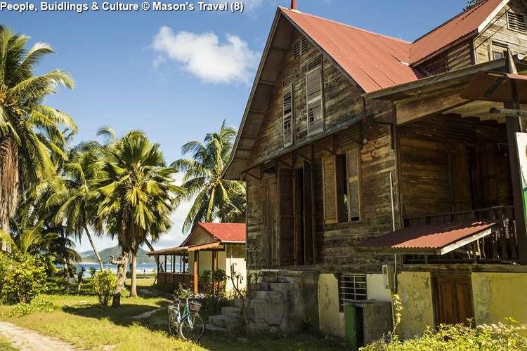 Landhouse on la Digue (Seychelles)