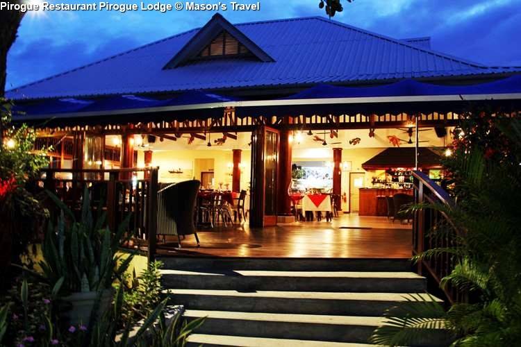 Pirogue Restaurant at Pirogue Lodge (Praslin)