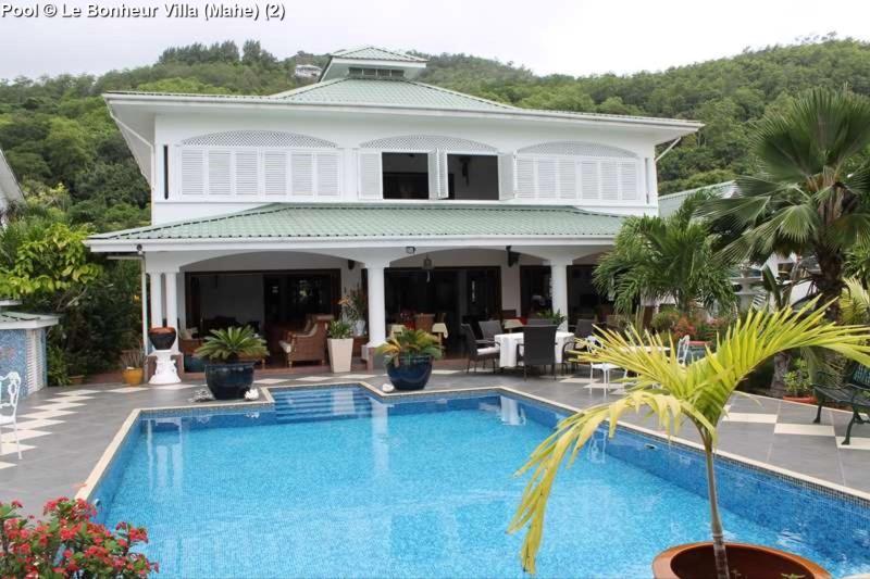 Pool © Le Bonheur Villa (Mahe)