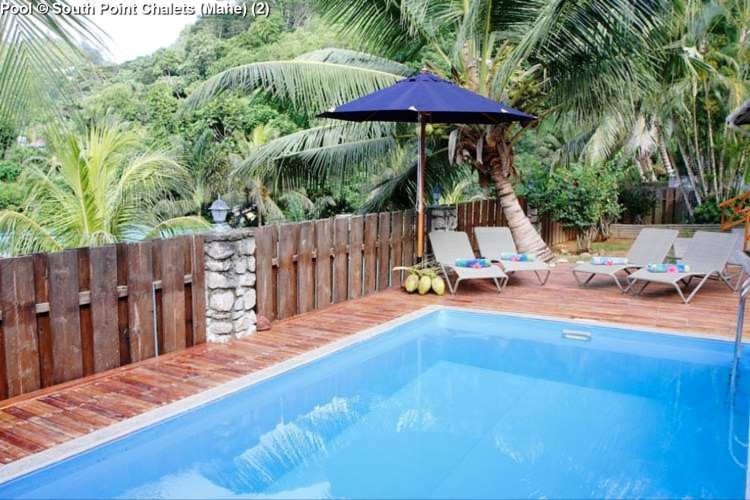 Pool © South Point Chalets (Mahe)