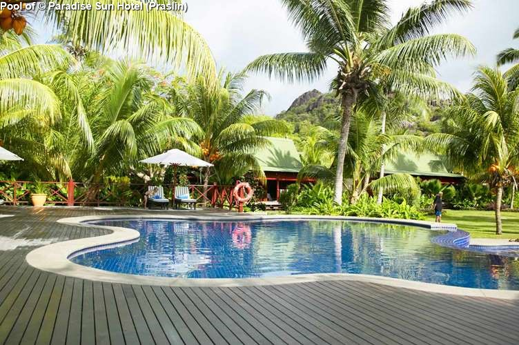 Pool of Paradise Sun Hotel (Praslin)