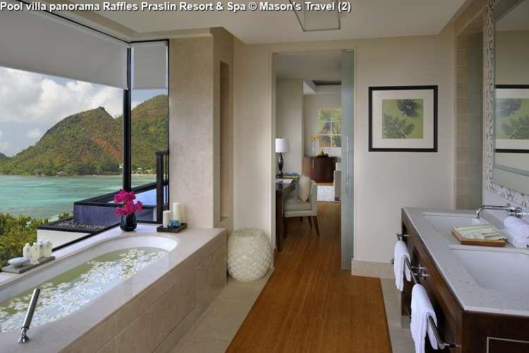 Pool villa panorama Raffles Praslin Resort & Spa (Praslin)