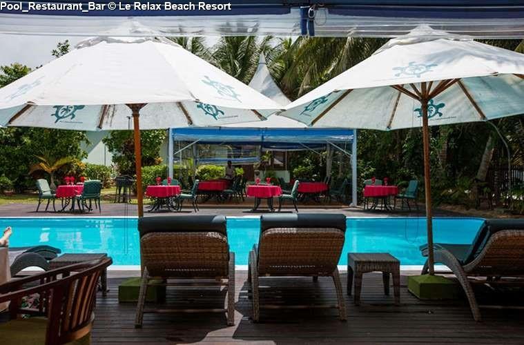 Restaurant/Bar of Le Relax Beach Resort (Praslin)