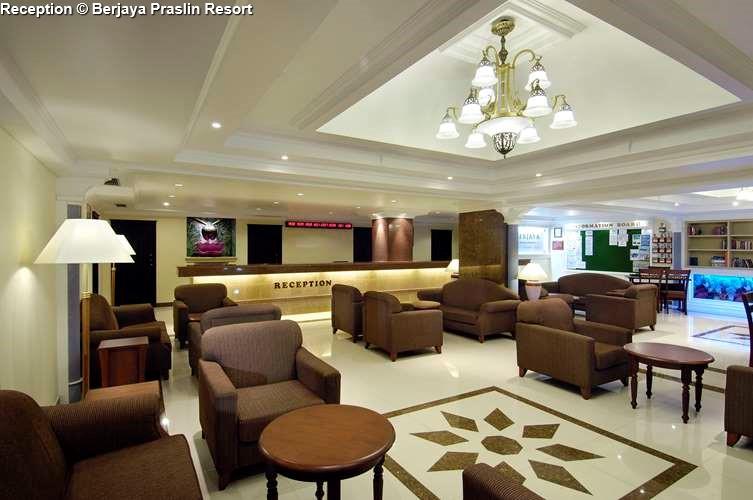 Reception Berjaya Praslin Resort