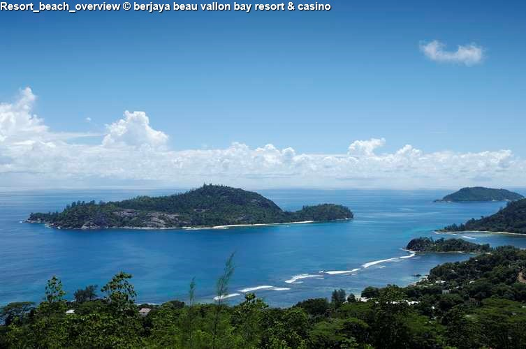 Resort_beach_overview berjaya beau vallon bay resort & casino