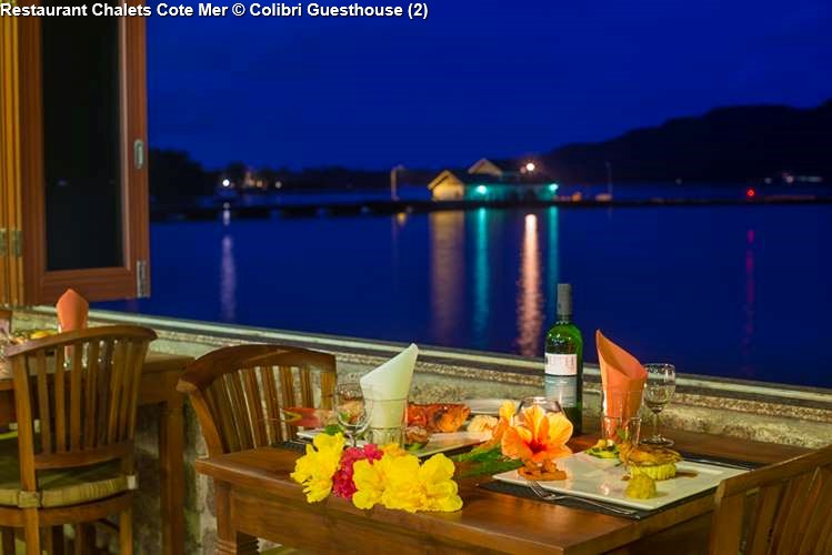 Restaurant Chalets Cote Mer for guests of Colibri Guesthouse
