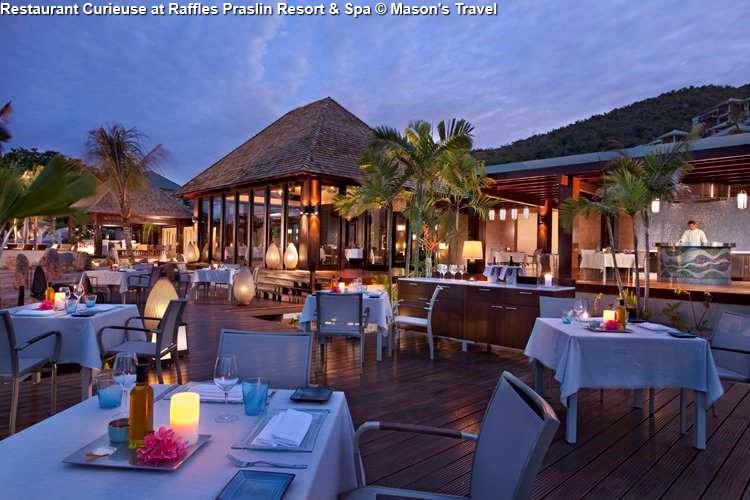Restaurant Curieuse at Raffles Praslin Resort & Spa (Praslin)