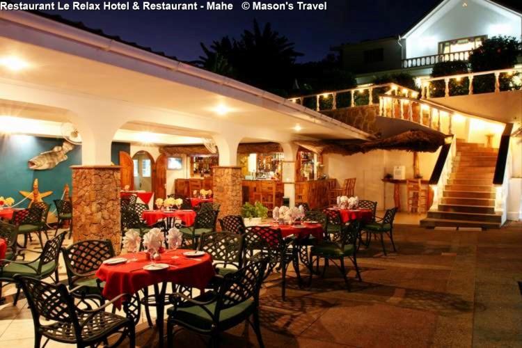 Restaurant Le Relax Hotel & Restaurant - Mahe © Mason's Travel