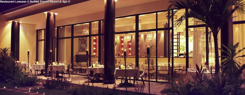 Restaurant Loesean © Raffles Praslin Resort & Spa ©