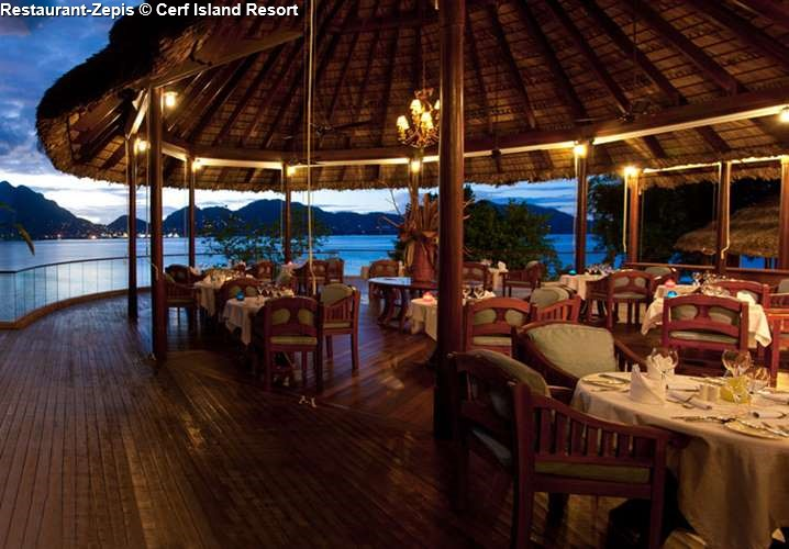 Restaurant Zepis Cerf Island Resort