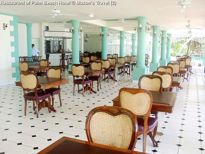 Restaurant of Palm Beach Hotel