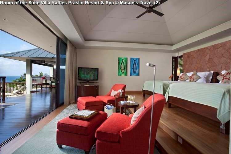 Room of the Suite Villa Raffles Praslin Resort & Spa (Praslin)