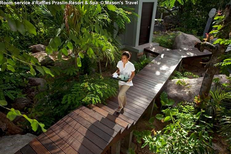 Room service a Raffles Praslin Resort & Spa (Praslin)