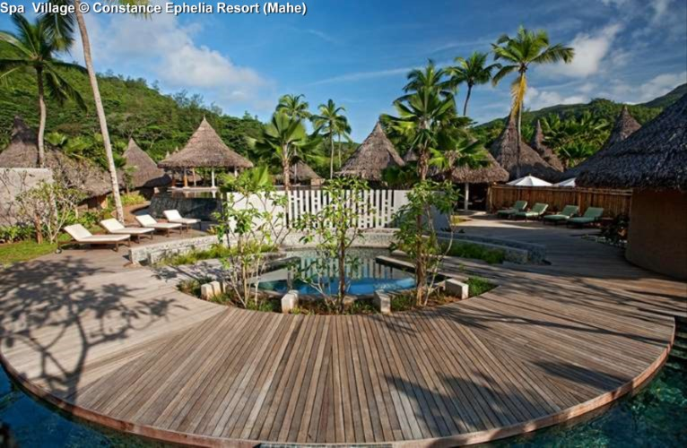 Spa Village © Constance Ephelia Resort (Mahe)