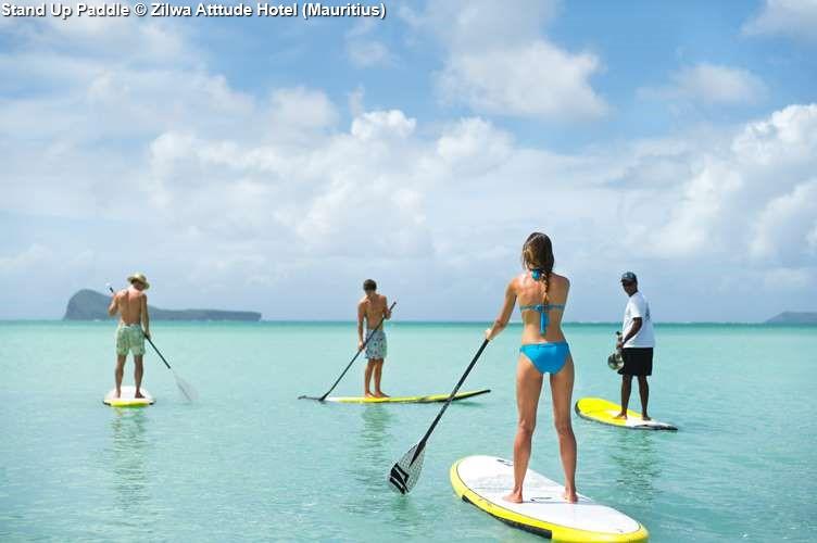 Stand Up Paddle Zilwa Atttude Hotel (Mauritius)