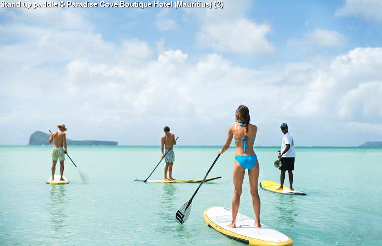 Stand up paddle Paradise Cove Boutique Hotel (Mauritius)