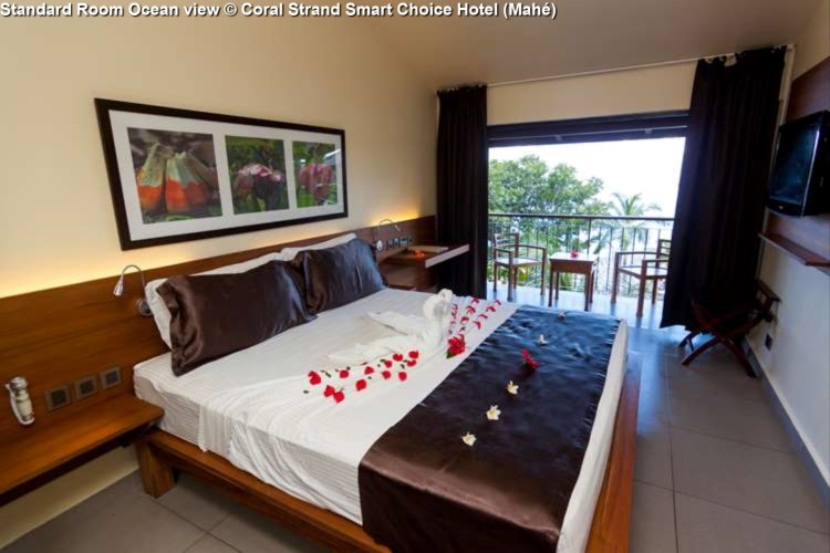 Standard Room Ocean view © Coral Strand Smart Choice Hotel (Mahé)