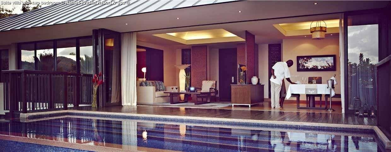 Suite villa with two bedroom © Raffles Praslin Resort & Spa ©