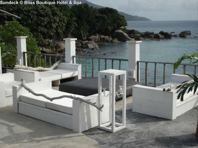 Sundeck © Bliss Boutique Hotel & Spa