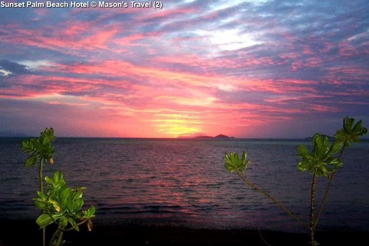 Sunset at Palm Beach Hotel