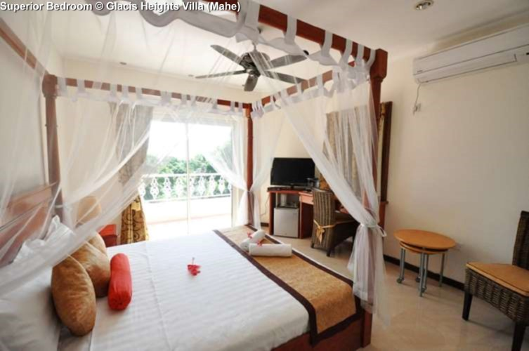 Superior Bedroom © Glacis Heights Villa (Mahe)