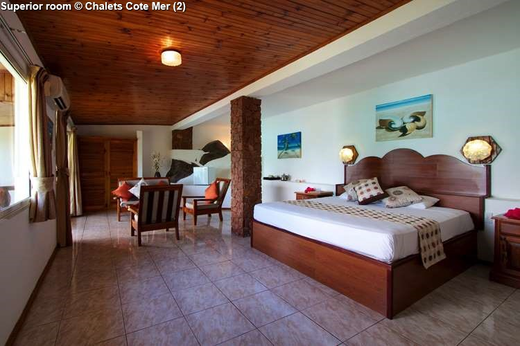 Superior room Chalets Cote Mer (Praslin)