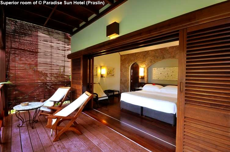 Superior room of Paradise Sun Hotel (Praslin)