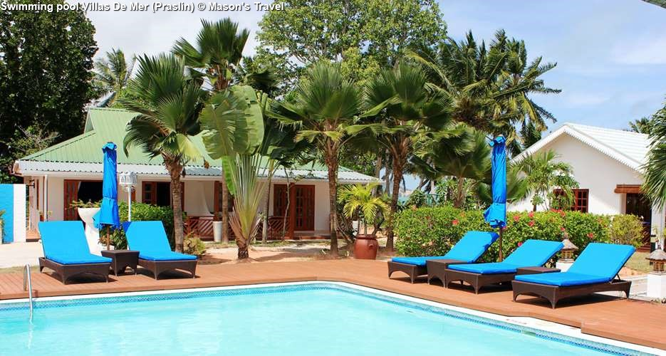 Swimming pool Villas De Mer (Praslin)