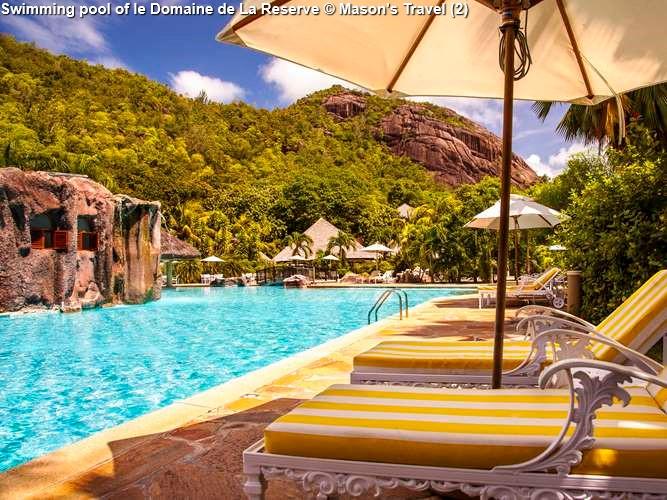 Swimming pool of le Domaine de La Reserve (Praslin)
