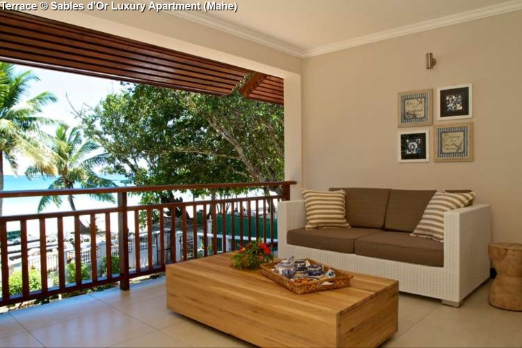 Terrace Sables d'Or Luxury Apartment (Mahe)