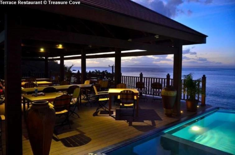 Restaurant Treasure Cove (Mahe)