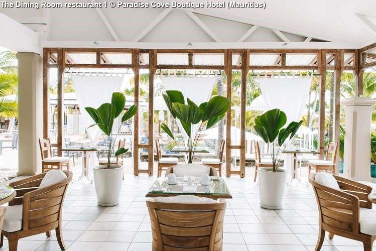 The Dining Room restaurant 1 © Paradise Cove Boutique Hotel (Mauritius)