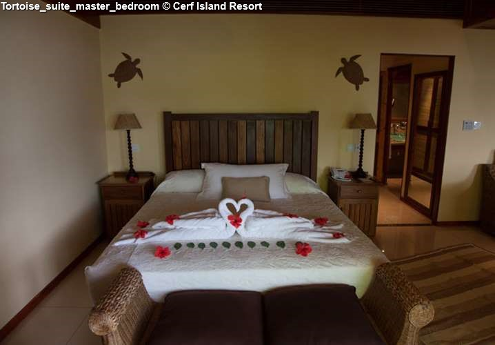 Tortoise suite Cerf Island Resort
