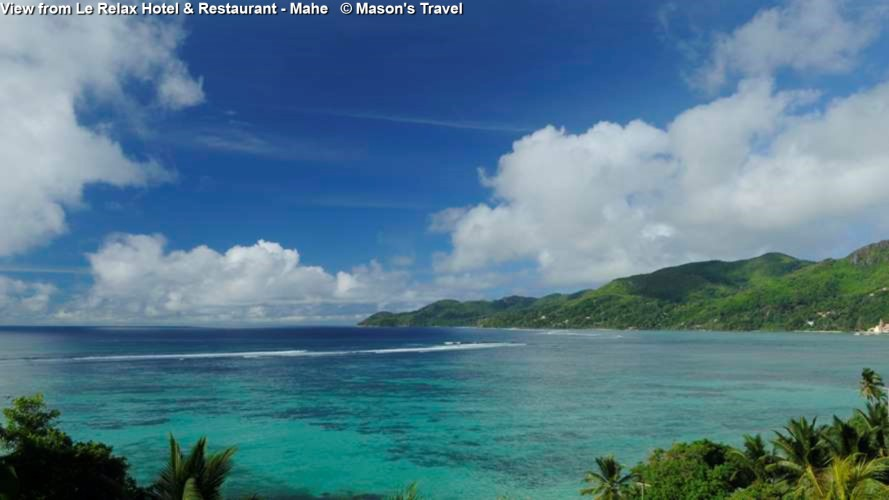View from Le Relax Hotel & Restaurant - Mahe © Mason's Travel