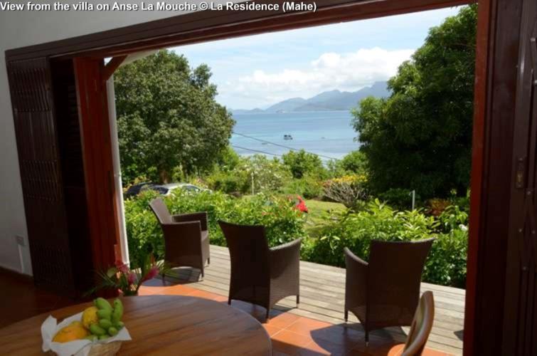 View from the villa on Anse La Mouche © La Residence (Mahe)