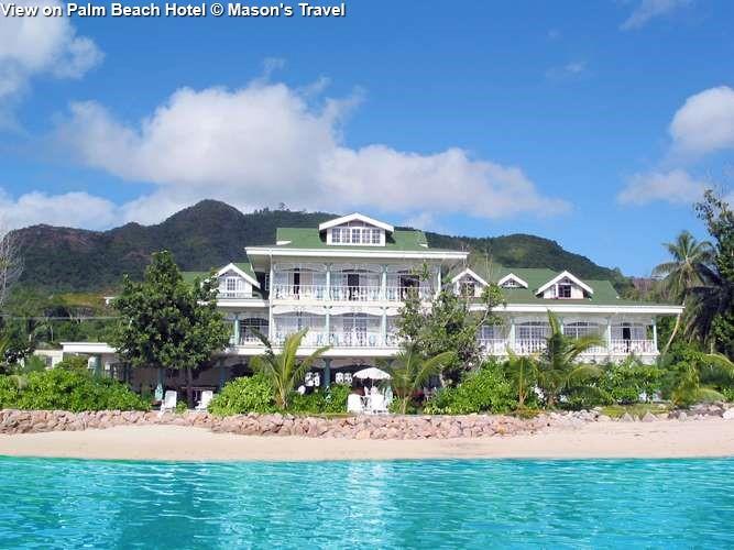 View on Palm Beach Hotel
