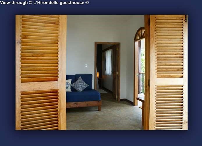 Lounge L'Hirondelle guesthouse (Praslin)